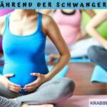 Yoga während der Schwangerschaft