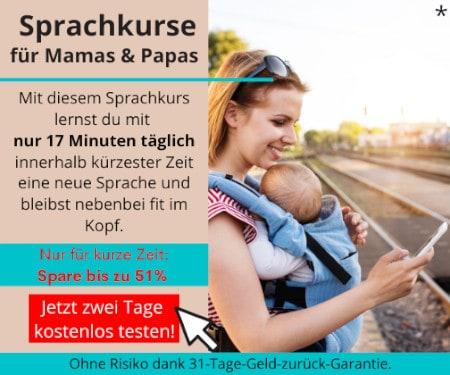 Sprachkurse für Mamas und Papas