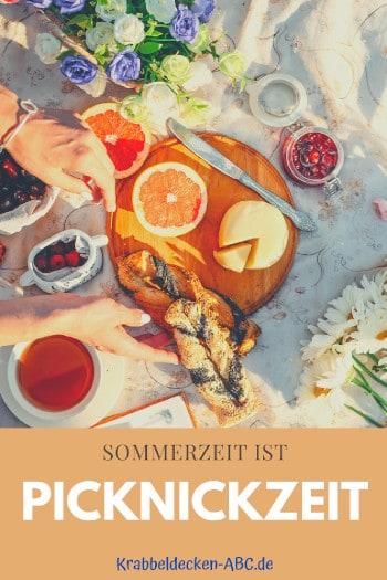 Sommerzeit ist Picknickzeit Pinterest